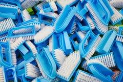 Bürsten für Kleidung und Schuhe Lizenzfreie Stockbilder