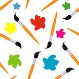 Bürsten und nahtloser Hintergrund der Farbe , Design, zeichnend Lizenzfreie Stockbilder