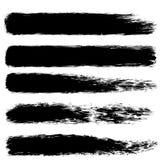 Bürstenfarben-Anschlagsatz Für Ihr Geschäftsprojekt Stockfoto