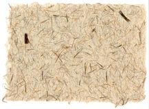 Büttenpapier Stockfoto