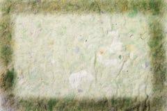 Büttenpapierfeld Stockfoto