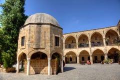 Büyük Han in Nicosia. Büyük Han (the Great Inn) is the largest caravansaries on the island of Cyprus Stock Images