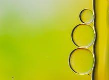 Bąbel i woda kolorowi dla tła Zdjęcia Stock