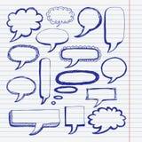 bąbel rysujący mikrotelefon Fotografia Stock