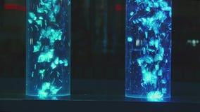 Bąbel Bąbel tubki z iluminacją zdjęcie wideo