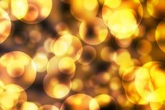Bąbla bokeh zamazany kolorowy tło Fotografia Stock