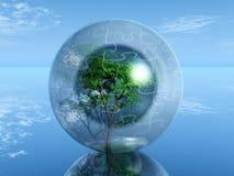 bąbla drzewo ilustracja wektor