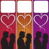 bąbla miłości mowa Fotografia Royalty Free