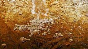 Bąble powodować woda przepływem zdjęcie royalty free