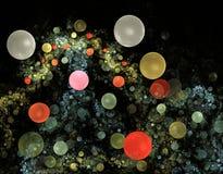 bąbli fractals fotografia royalty free