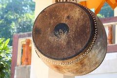Bęben przy świątynią Obraz Royalty Free