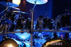 Bębeny Billy Cobham żyją na scenie w LODOWY Krakowskim, zdjęcia royalty free