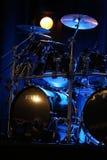 Bębeny Billy Cobham żyją na scenie w LODOWY Krakowskim obraz stock