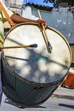 Bębni graczów w Brazylijskim ludowym festiwalu na cześć świętego George Fotografia Stock