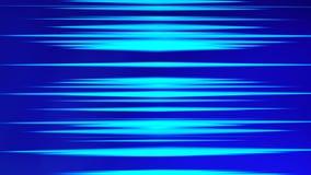 Błękitów świateł paski dla futurystycznego cyfrowego komputeru Internetowy pojęcie, ruchu ruchu technologii rozmyty tło 3 d stres ilustracja wektor