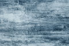 Błękitów kleksy na szarej kanwie Błękitne farb plamy na ścianie Abstrakta wzór akwarela styl na popielatym tle Abstrakcjonistyczn obrazy royalty free