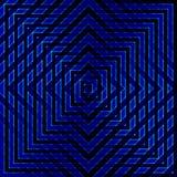 Błękitów rhombuses i kwadraty Fotografia Royalty Free