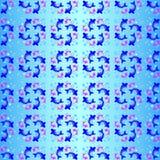 7 błękitów ryba Obrazy Stock