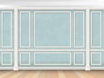 Błękit ściana z lizenami obrazy royalty free