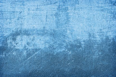 Błękit ścienna tekstura Obraz Royalty Free