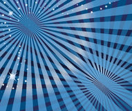 błękit abstrakcjonistyczna fala Fotografia Stock