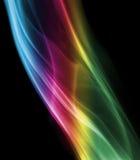 błękit abstrakcjonistyczny dym Obrazy Stock