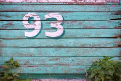 Błękit blaknący malował drewnianą teksturę, tło i tapetę, Horyzontalny skład Zdjęcia Stock