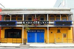 błękit bostonu dom ma Zdjęcie Royalty Free