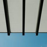 błękit dachowy nieba wierzchołek Zdjęcia Stock