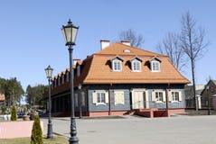 Błękit dom Fotografia Stock