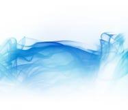 błękit dym royalty ilustracja