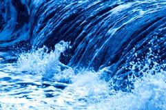 błękit fala Zdjęcie Royalty Free