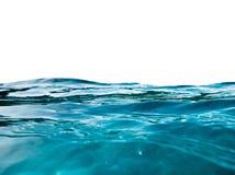 Błękit fala powierzchni czochra na tle zdjęcie royalty free
