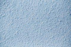 Błękit Gipsujący betonowej ściany tła tekstury szczegół Fotografia Royalty Free
