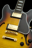 błękit gitara zdjęcie royalty free