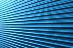 błękit gofrująca ściana Obrazy Stock