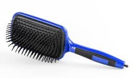 Błękit grępla włosy na białym tle Obraz Royalty Free