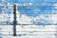 Błękit i biel ścienna tekstura Zdjęcia Stock