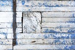 Błękit i biel ścienna tekstura Zdjęcie Stock