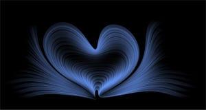 Błękit i czerń barwimy abstrakcjonistyczny wektor cieniącą tło tapetę również zwrócić corel ilustracji wektora fotografia stock