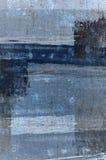 Błękit i Popielaty Abstrakcjonistycznej sztuki obraz obrazy stock