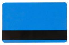 błękit karty kredyt Zdjęcie Royalty Free