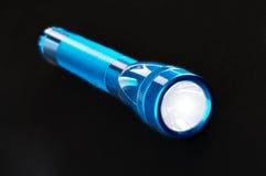 Błękit kieszeniowa latarka Zdjęcia Royalty Free