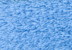 Błękit kopia popierał kogoś Terry tkaniny tekstury towelling tło Hig obraz stock