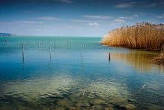 błękit krajobraz Obraz Royalty Free
