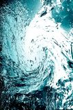 błękit kropli woda Obrazy Stock
