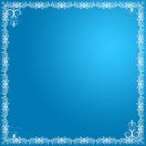 błękit kwiecisty karciany obraz stock