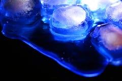 błękit lód zdjęcie stock