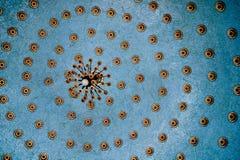 błękit lekka radial płytka Zdjęcia Stock