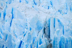 Błękit lodowy glaciar Perrito Moreno Fotografia Royalty Free